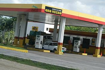 Gasolinera Cuba accidente
