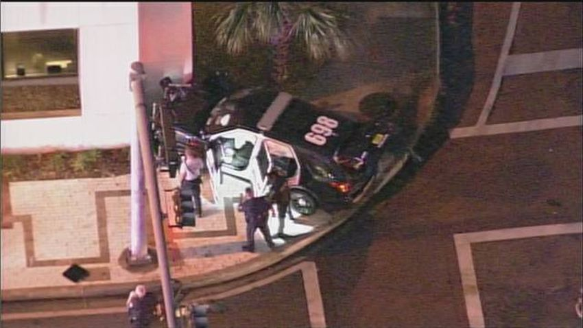 Oficial de policía de Bay Harbor Islands herido en accidente de North Miami