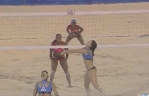 En vivo la final de voleibol de playa femenino: Cuba vs Colombia