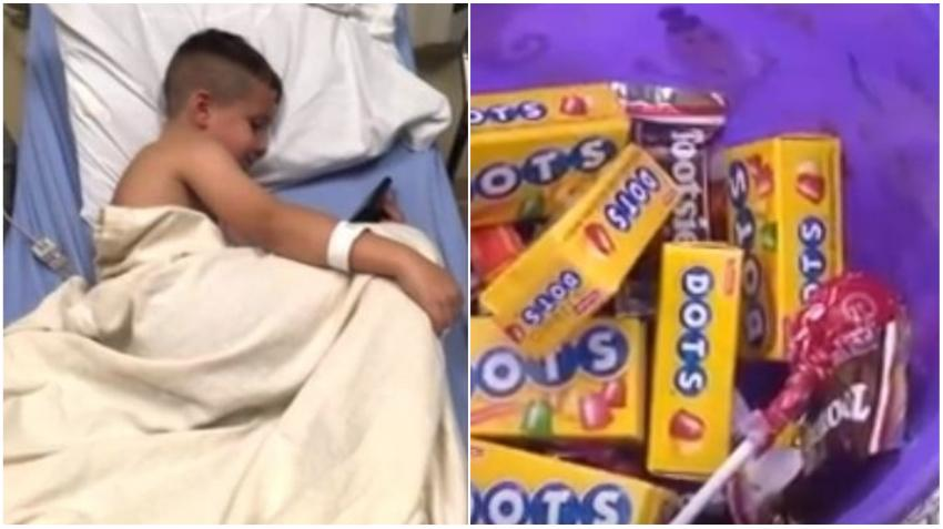 "Niño de Ohio da positivo a metanfetamina después de comer caramelos de ""trick-or-treat"""
