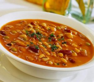 Receta: Potaje de garbanzos
