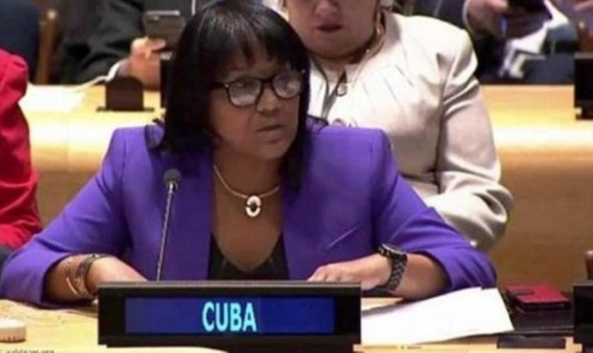 El régimen asciende a representante de Cuba en la ONU que dio gritos y golpes sobre las mesas, para boicotear campaña de EEUU