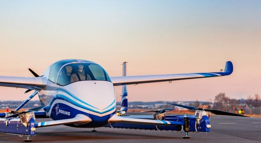 Boeing realiza su primer vuelo de prueba con aeronave autónoma