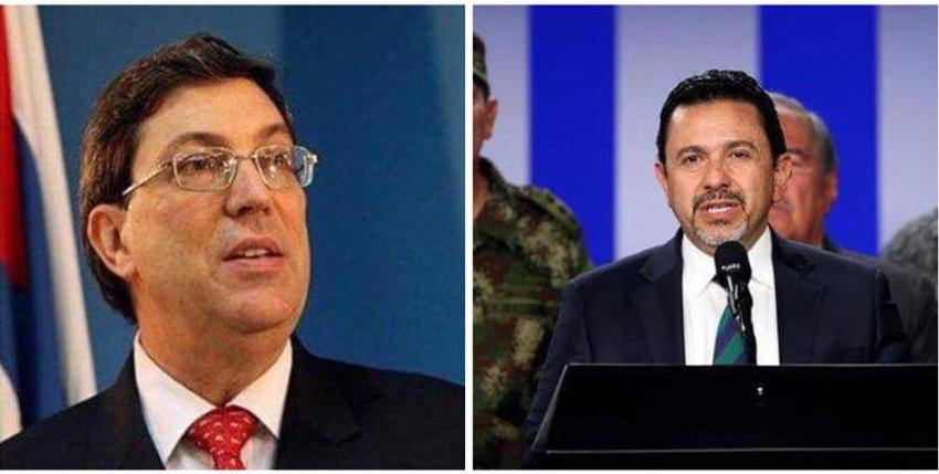 Colombia contesta al régimen de La Habana que no hay protocolos que amparen al terrorismo