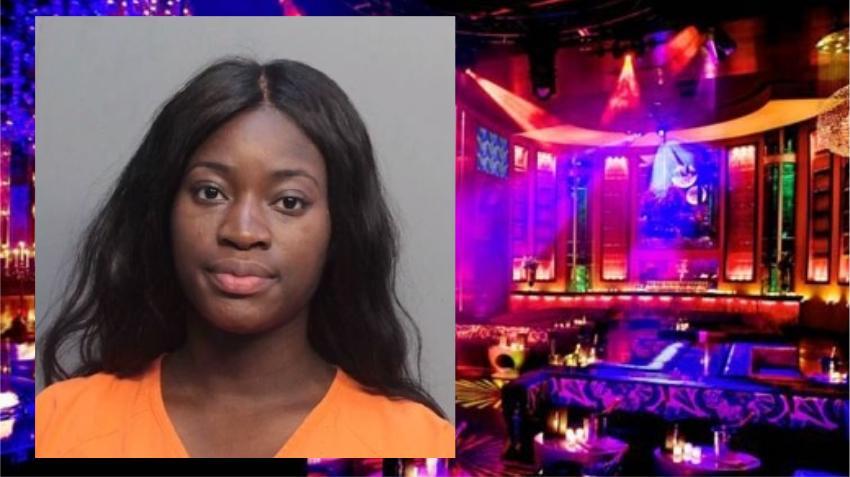 Policía arresta a mujer acusada de drogar y robar a turista en club de Miami Beach