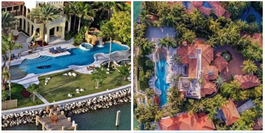Lujosa mansión en Palm Island de Miami a la venta por $ 26.2 millones