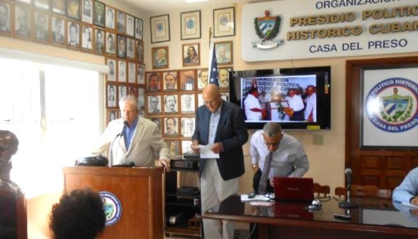 Cubanos del Presidio Político Histórico en Miami se suman a la campaña en contra de la dictadura Ni1+