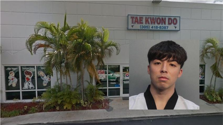 Instructor de Taekwondo del Doral es acusado de abusar sexualmente de una estudiante de 10 años