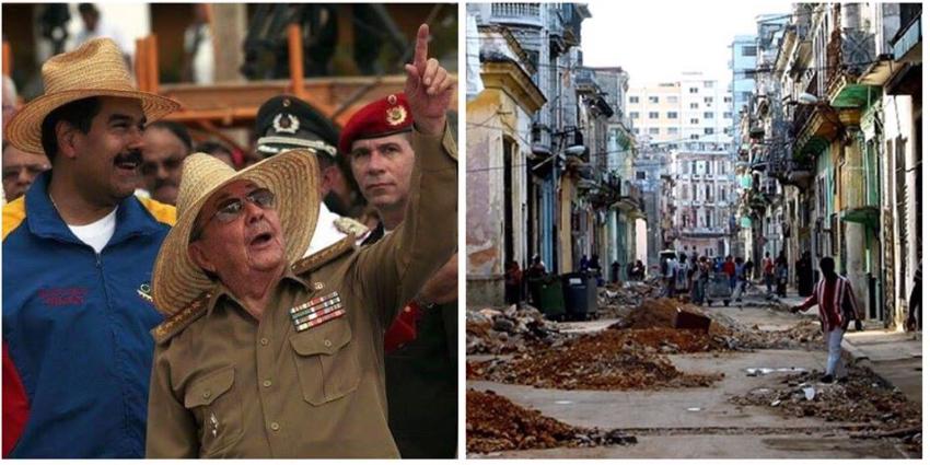 Cubanos en la Isla temerosos ante la repercusión que pudiese tener para ellos un cambio de gobierno en Venezuela