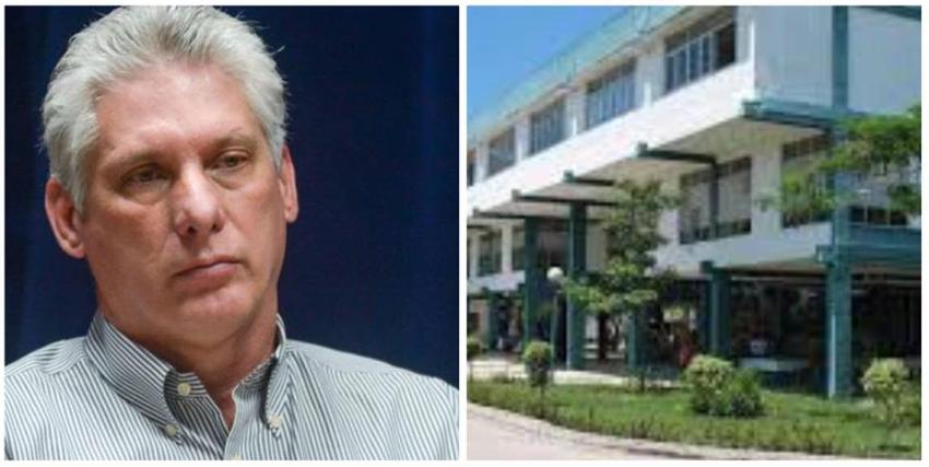 """Crece la disidencia en la Universidad de Camagüey Ignacio Agramonte, y aparecen carteles de """"Abajo Díaz-Canel"""""""