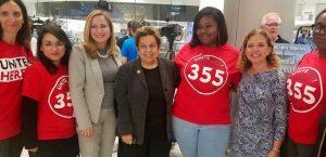 La representante del distrito 27, Donna Shalala se juramentó en el cargo este fin de semana en la Universidad de Miami