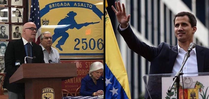 Asamblea de la Resistencia Cubana en Miami manifiesta su apoyo a   Juan Guaidó como presidente interino de Venezuela