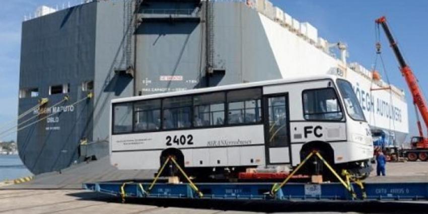 Llegan a Cuba siete locomotoras y un prototipo de tren ultraligero procedentes de Rusia