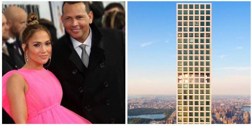 JLo y Alex Rodríguez ponen en venta apartamento de lujo en Manhattan por $17.5 millones