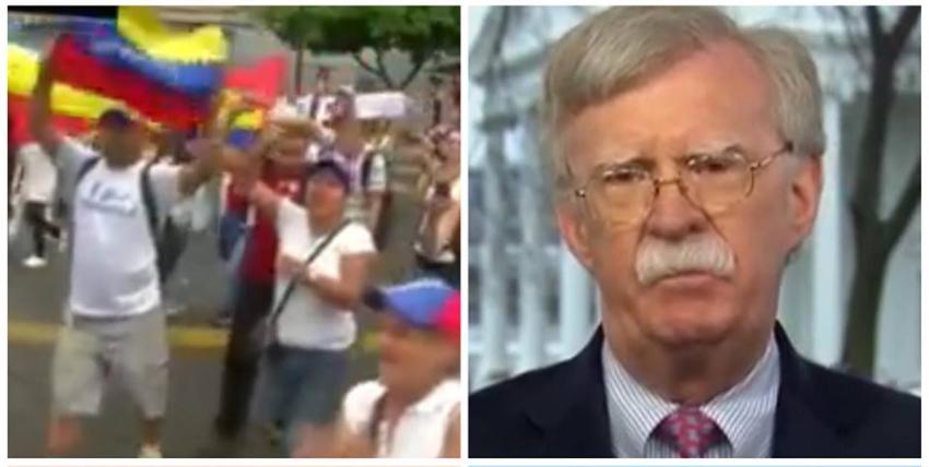 Administración Trump enfocada en desconectar a Nicolás Maduro de sus fuentes de ingresos, asegura Bolton