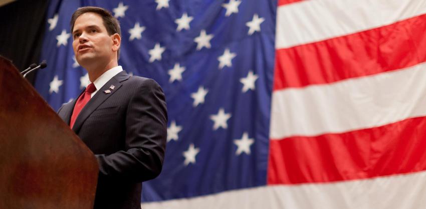 Marco Rubio insta al Departamento de Estado a expulsar a los diplomáticos de Maduro de EEUU