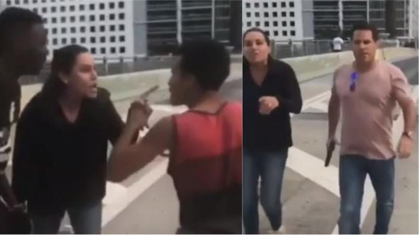 Hombre es arrestado por amenazar con arma de fuego a adolescentes que protestaban en Brickell
