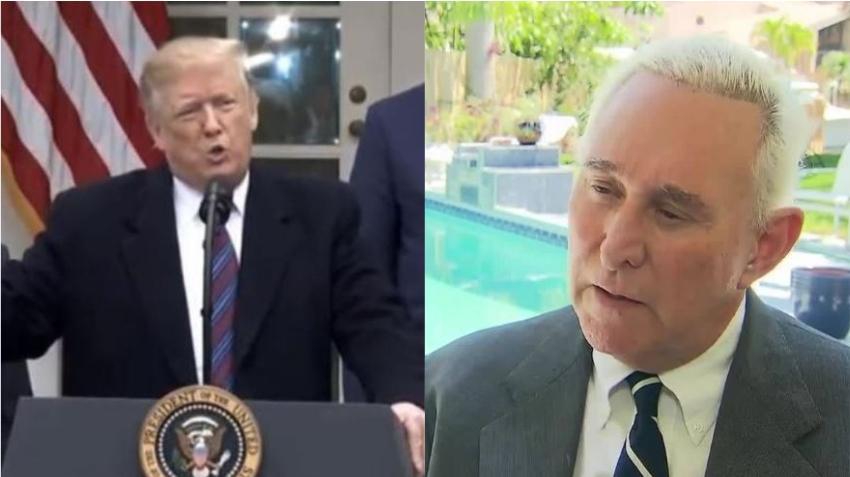 Ex asesor y aliado de Trump, Roger Stone, arrestado en Florida bajo siete cargos federales relacionados a la investigación de Mueller