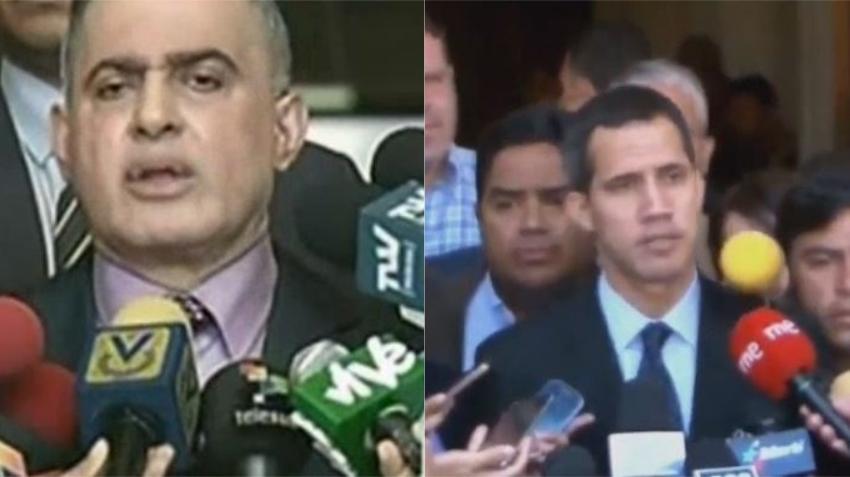 Fiscal de Venezuela le prohíbe la salida del país a Juan Guaidó, y le congela las cuentas