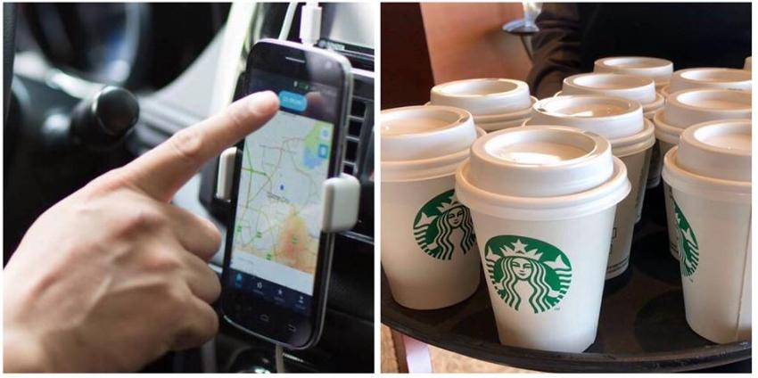 Uber y Starbucks entregarán café a domicilio en algunas ciudades de EEUU, incluida Miami