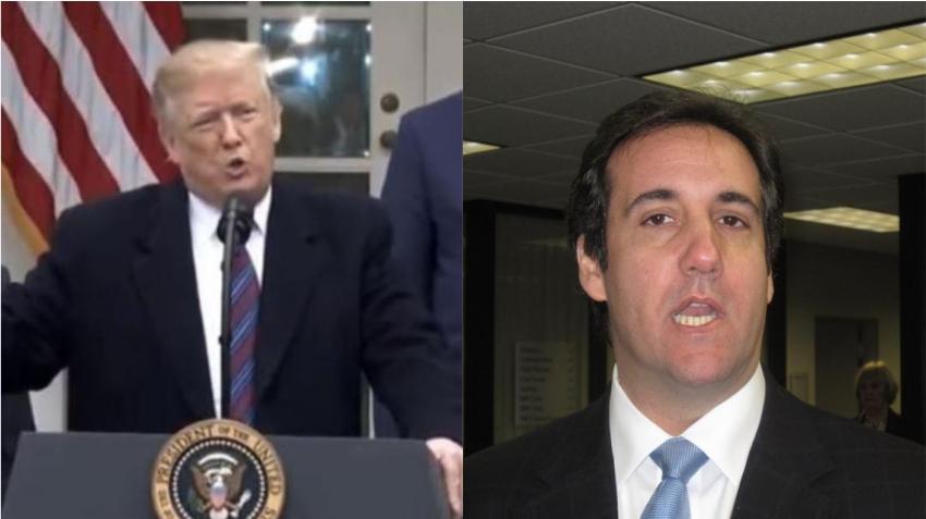 Ex abogado personal de Trump, Michael Cohen, habla en el Congreso y asegura que el presidente sabía con antelación del robo de emails a la campaña de Clinton