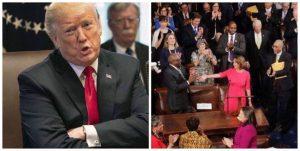 Presidente Trump se desquita y pospone la gira internacional de la líder demócrata Nancy Pelosi por el cierre del gobierno