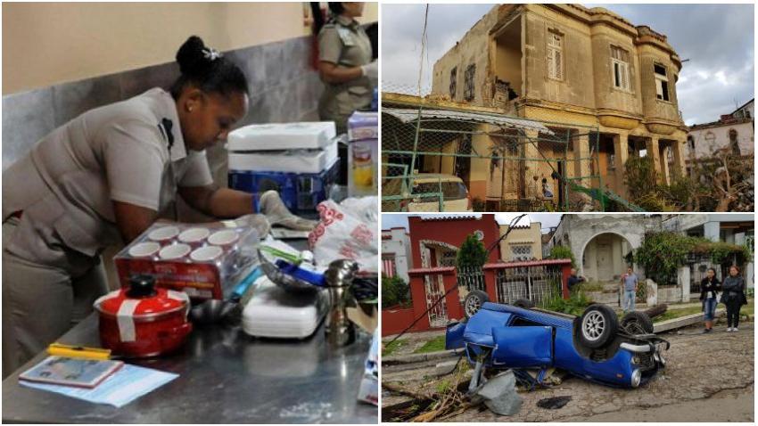 Nota oficial de la Aduana de Cuba sobre donativos para los damnificados por el tornado en La Habana