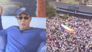 Humorista cubano Alexis Valdés admira la valentía del pueblo de Venezuela