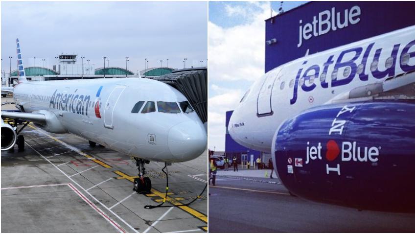 American Airlines crítica a JetBlue por el alto número de asientos vacíos en vuelos a La Habana