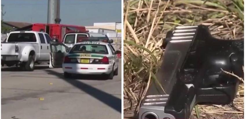 Trabajadores de camiones de comida fueron asaltados a punta de pistola al noroeste de Miami-Dade