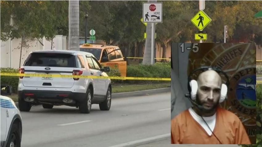 Un cubano es acusado del asesinato de un taxista en la calle Biscayne Boulevard