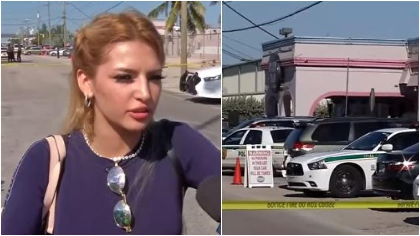 Bailarina de Booby Trap en Miami relata cómo vivió el tiroteo que terminó con la muerte de un cubano