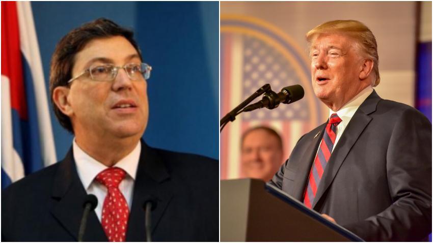 """Canciller cubano Bruno Rodríguez reacciona a las restricciones de viaje de la administración Trump: """"Pretenden asfixiar la economía y dañar el nivel de vida de los cubanos"""""""