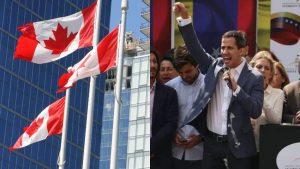 Canadá reconoce de manera oficial a Juan Guaidó como presidente de Venezuela