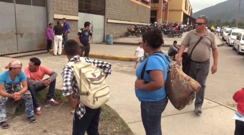 Nueva caravana hondureña con 600 personas se organiza para salir hacia la frontera México-EEUU