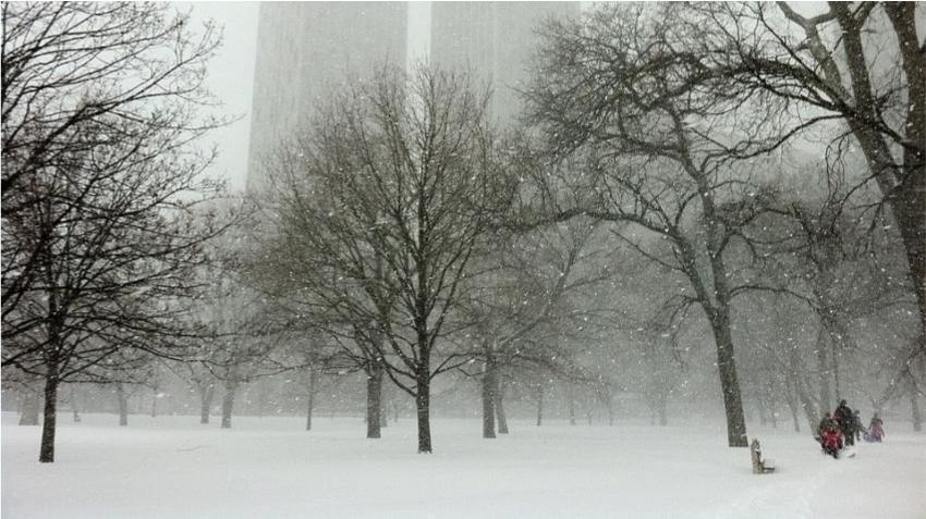 Ciclón bomba amenaza a toda la zona central de Estados Unidos con nieve granizo y lluvia