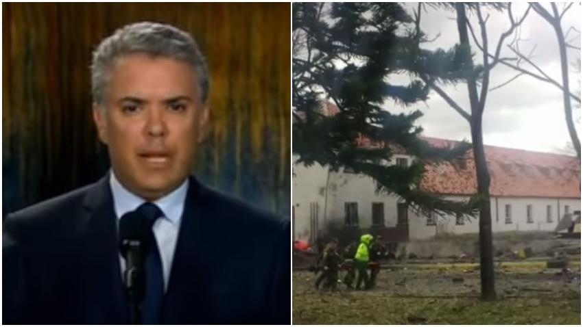 Colombia pide a Cuba que arreste a terroristas del ELN que se esconden en Cuba tras atentado con bomba en Bogotá