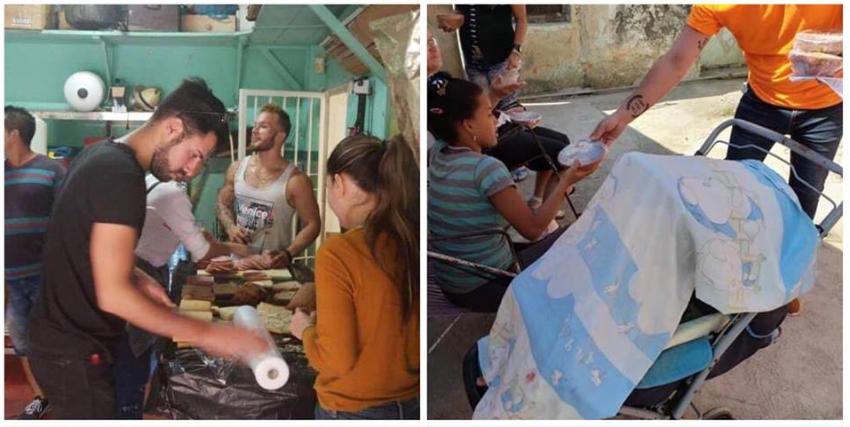 Paladares en La Habana regalan la comida a los damnificados, mientras el Gobierno cubano la cobra