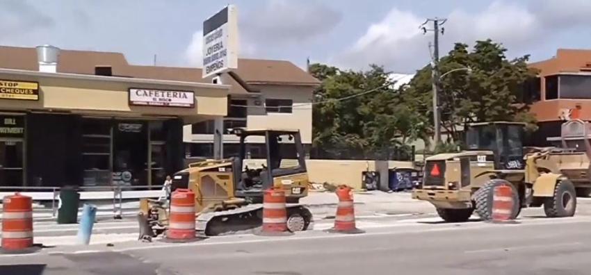 Construcciones en Flagler no están bien hechas, podrían regresar las obras