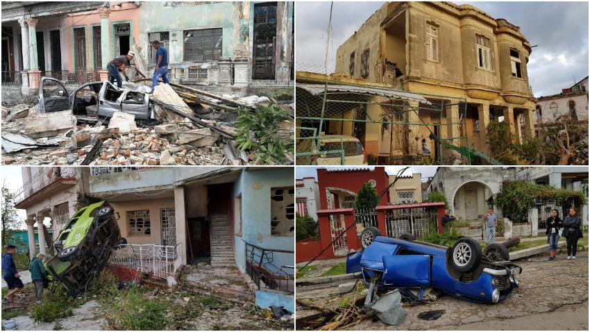 Se dispara el número de casas afectadas en La Habana a causa del tornado
