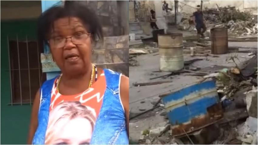 """Cubana afectada por el tornado en La Habana: """"No ha venido nadie del gobierno a ver qué se necesita"""""""