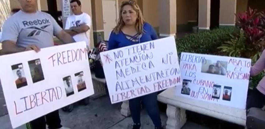 Casi un centenar de cubanos se encuentran en un centro de detención en Luisiana, familiares piden la intervención del senador Marco Rubio