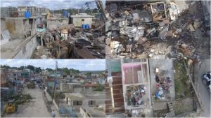 Impactantes imágenes del desastre en La Habana tomadas desde un drone