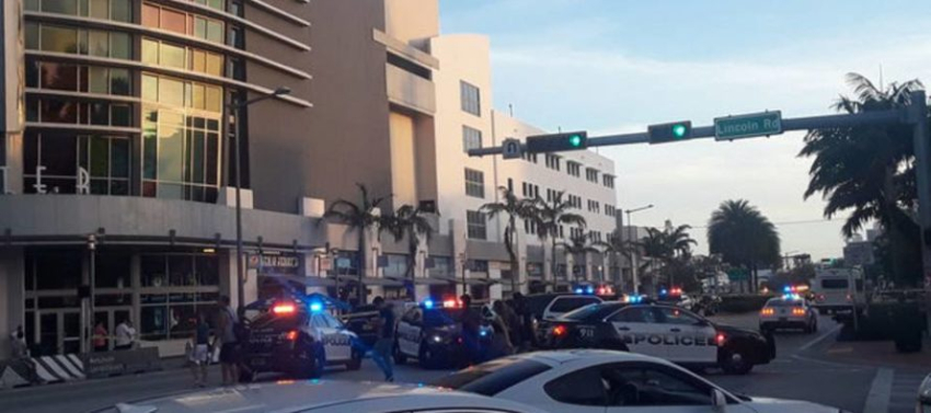 Una motociclista murió atropellada en South Beach