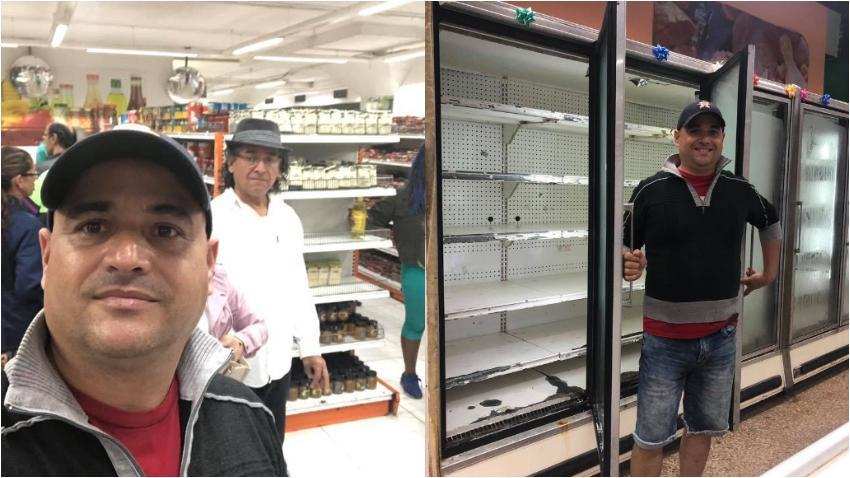 """Facundo de la serie humorística """"Vivir del Cuento"""" se va a las tiendas en Cuba para hacerse fotos"""