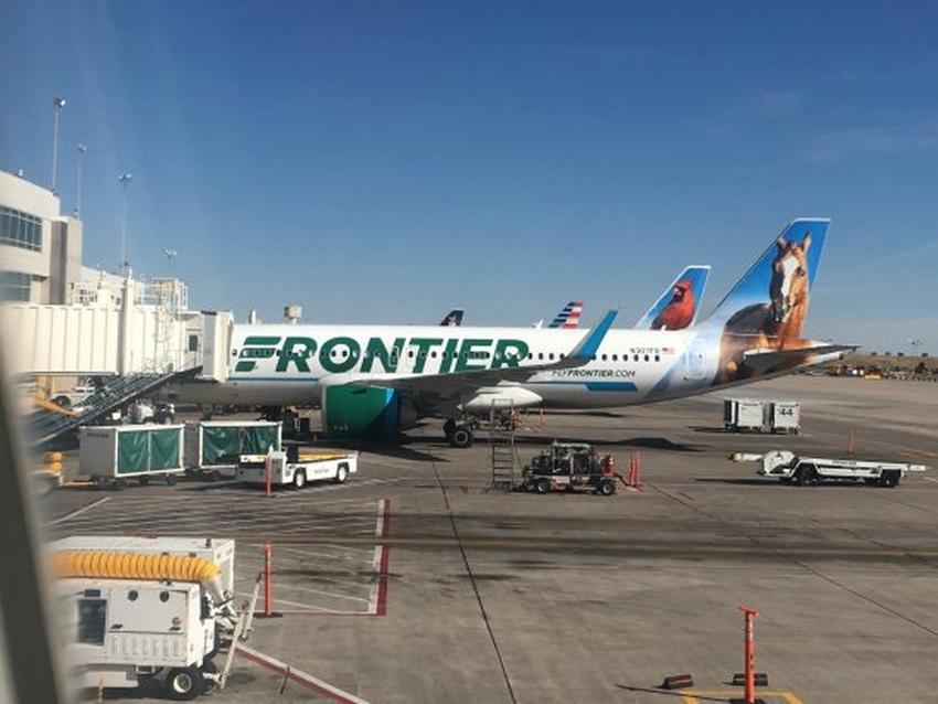 Seis pasajeros se enferman repentinamente en un vuelo de Frontier Airlines con destino a Florida