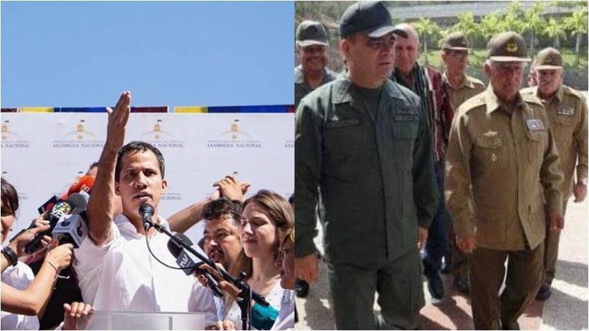 Juan Guaidó, presidente de Venezuela, pide que los militares cubanos salgan inmediatamente del país