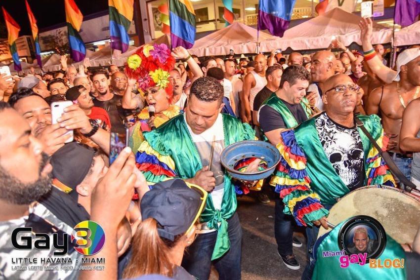 Calle Ocho a pocas semanas de celebrar nuevamente Gay8Festival
