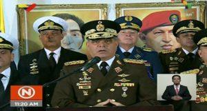Varios generales en Venezuela han dado su apoyo al dictador Nicolás Maduro públicamente