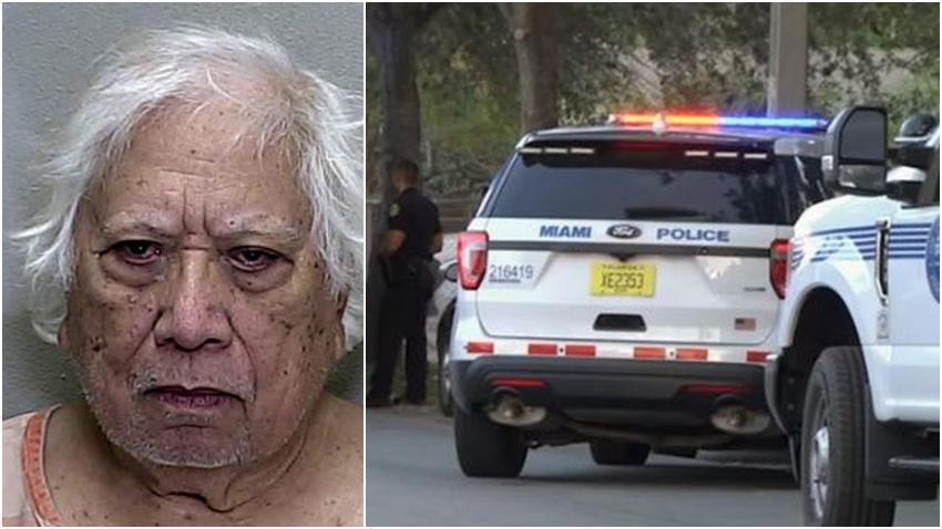 Un hombre de 85 años disparó contra conductor en Florida, sin motivo aparente